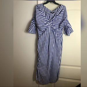Dresses & Skirts - Brand new Beautiful royal blue striped dress
